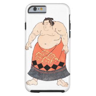 El luchador del sumo funda de iPhone 6 tough