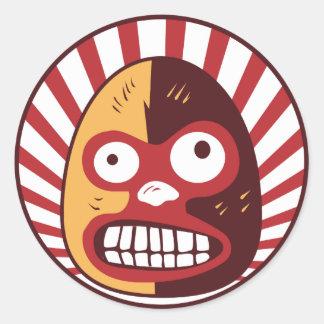 El Luchador Loco Mexican Wrestling sticker