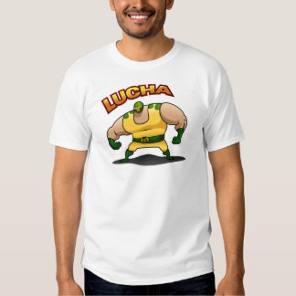 El Luchador - White T Shirt