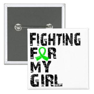 El luchar para mi enfermedad de Lyme del chica 21 Pin