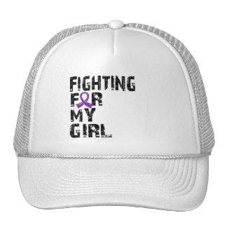 El luchar para mi sarcoidosis 21 del chica gorra