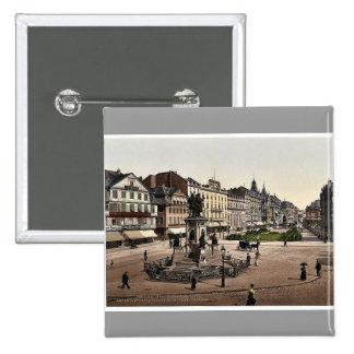 El lugar de Goethe y monumento de Goethe-Gutenburg Pins