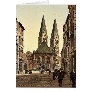 El lugar de Guillermo del emperador, Bremen, Alema Tarjetón