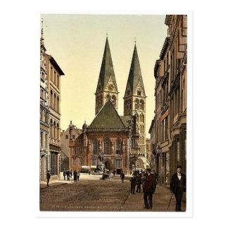 El lugar de Guillermo del emperador, Bremen, Alema Tarjeta Postal