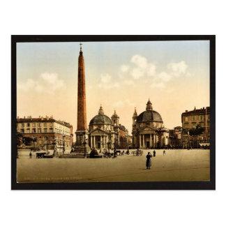 El lugar de la gente, obra clásica Photochrom de R Tarjetas Postales