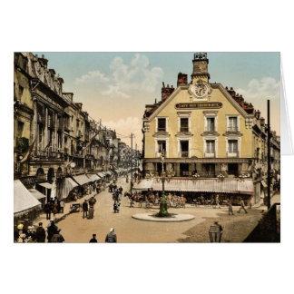 El lugar de la sal bien, Dieppe, obra clásica de F Felicitacion