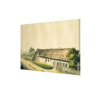 El lugar de nacimiento de Francisco Joseph Haydn Impresión En Lona