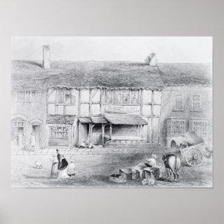 El lugar de nacimiento de Shakespeare Posters