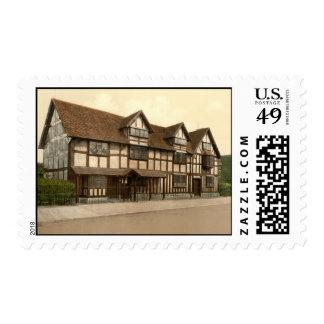 El lugar de nacimiento de Shakespeare, Envio