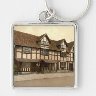 El lugar de nacimiento de Shakespeare, Stratford-s Llavero Personalizado