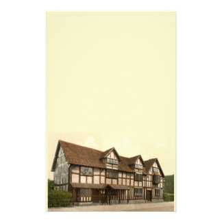 El lugar de nacimiento de Shakespeare, Stratford-s Papelería Personalizada