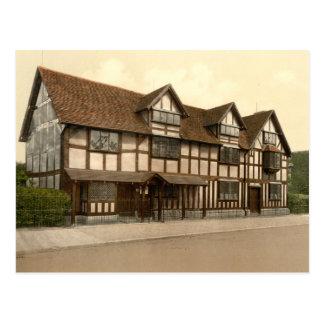 El lugar de nacimiento de Shakespeare, Stratford-s Postales
