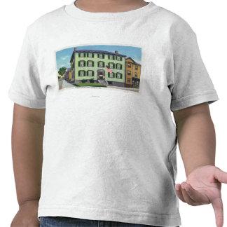El lugar de nacimiento del poeta Longfellow Camiseta