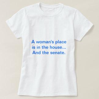 """""""El lugar de una mujer está en la casa. Y el Remeras"""