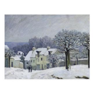 El lugar du Chenil en Margoso-le-ROI, nieve, 1876 Postales