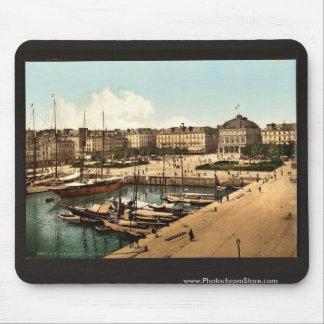 El lugar Gambetta y muelles, classi de Havre, Fran Alfombrillas De Raton