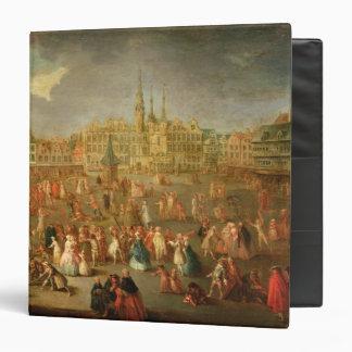 El lugar magnífico durante carnaval, Cambrai, 1765