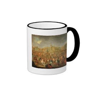 El lugar magnífico durante carnaval, Cambrai, 1765 Tazas De Café