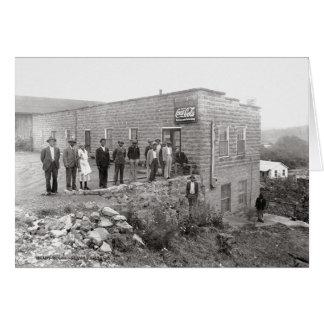 El lugar McMinnville Tennessee 1940 de Ella Tarjeta De Felicitación