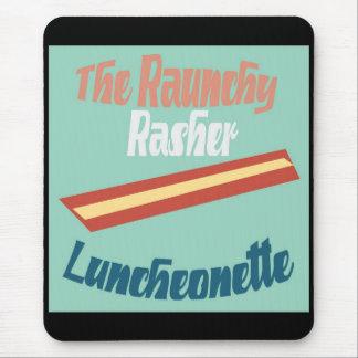 El Luncheonette lascivo de la lonja Alfombrillas De Raton