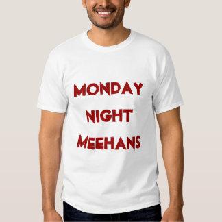 el lunes por la noche comida de los meehans playeras
