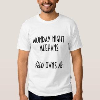 El lunes por la noche Meehans Fred Poleras
