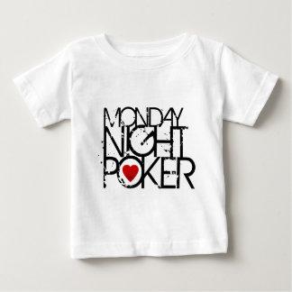 El lunes por la noche póker playera de bebé