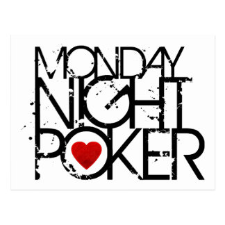 El lunes por la noche póker postal