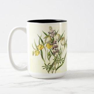 El Lupine florece la taza floral del jardín