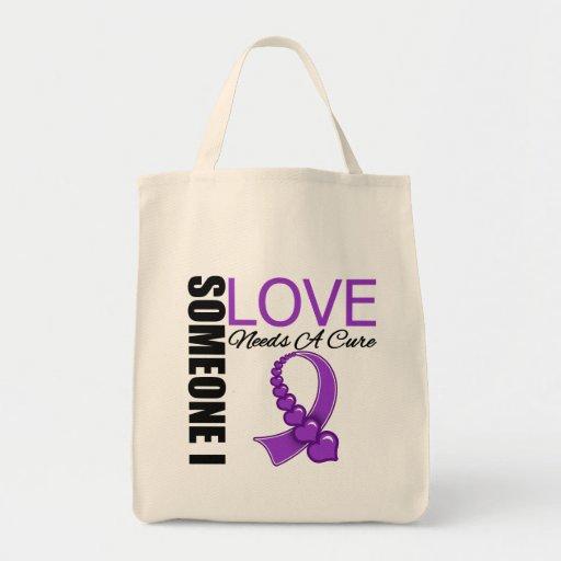 El lupus alguien amor de I necesita una curación Bolsa Tela Para La Compra