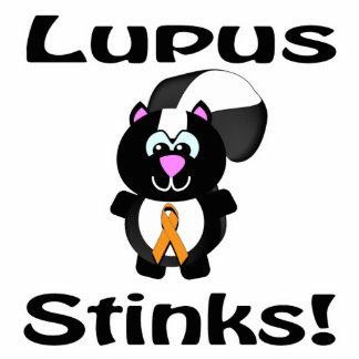 El lupus apesta diseño de la conciencia de la mofe escultura fotografica