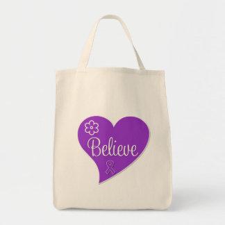 El lupus cree el corazón bolsa tela para la compra