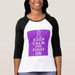 El lupus guarda calma y sigue luchando camiseta