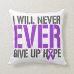 El lupus I dará nunca nunca para arriba esperanza Cojin
