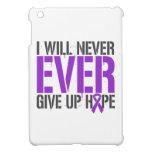 El lupus I dará nunca nunca para arriba esperanza iPad Mini Protectores