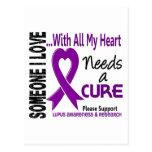El lupus necesita una curación 3 postal