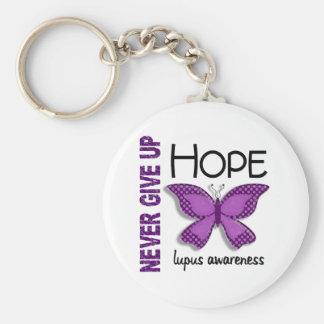 El lupus nunca da para arriba la mariposa 4,1 de l llavero redondo tipo pin