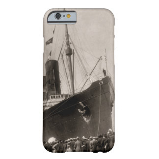 El Lusitania del RMS llega New York City 1907