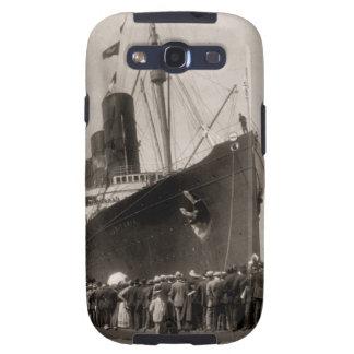 El Lusitania del RMS llega New York City 1907 Samsung Galaxy S3 Cobertura