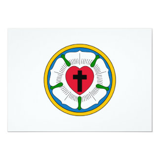 El Lutheranism Martin Luther del rosa de Luther