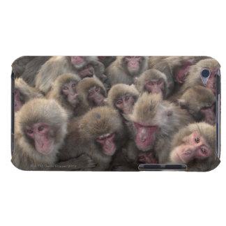 El macaque japonés (fuscata del Macaca) amontonó Case-Mate iPod Touch Cárcasa