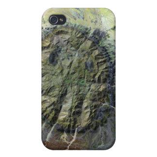 El macizo de Brandberg en Namibia septentrional iPhone 4 Protector