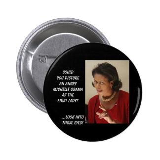 el madmichellobama, podría usted representar un Mi Pin Redondo De 2 Pulgadas