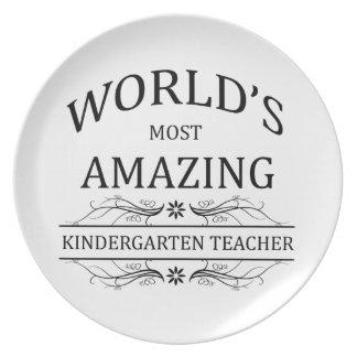 El maestro de jardín de infancia más asombroso del plato