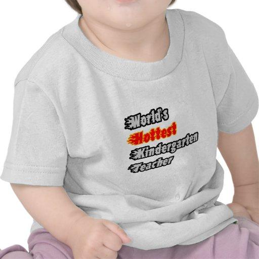 El maestro de jardín de infancia más caliente del camiseta