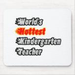 El maestro de jardín de infancia más caliente del  tapetes de raton