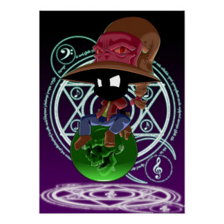 El Mage negro de la música Póster