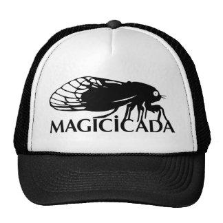 ¡El Magicicada - cigarra - los insectos frescos co Gorros Bordados