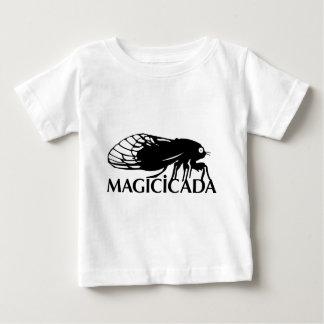 ¡El Magicicada - cigarra - los insectos frescos Playera Para Bebé