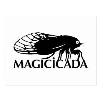¡El Magicicada - cigarra - los insectos frescos Postal